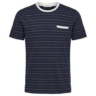 Men's Striped Organic Cotton T-Shirt