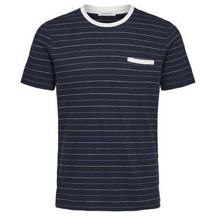 Men's Striped Organic Cotton T-Shirt