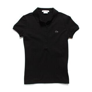 Women's Classic Short Sleeve Pique Polo Shirt