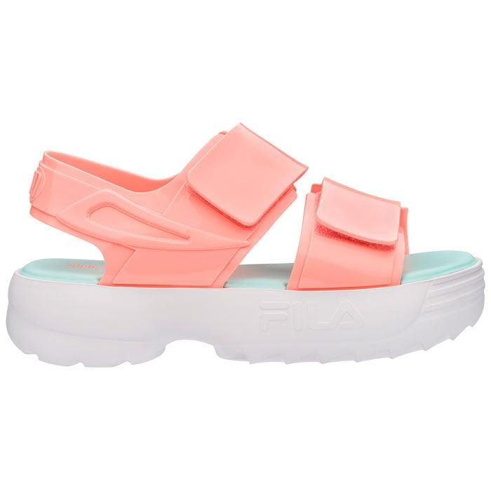 Sandales compensées Melissa x FILA pour femmes