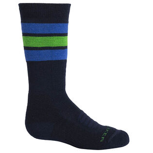 Juniors' [8-6.5] Ski Medium Over-The-Calf Stripe Sock