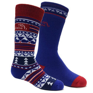 Juniors' [9-6] Merino Ski Sock (2 Pack)