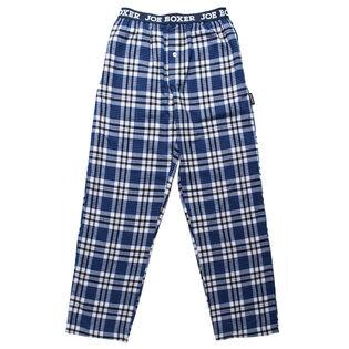 Men's Flannel Pant [Black/Grey]
