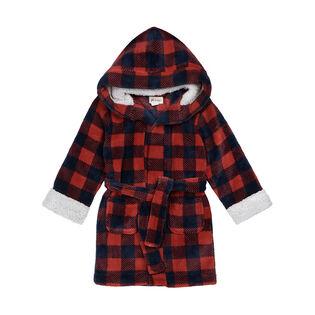 Kids' [4-7] Buffalo Plaid Robe