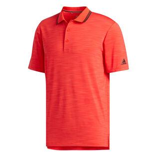 Chemise polo Ultimate365 rayée et texturée pour hommes