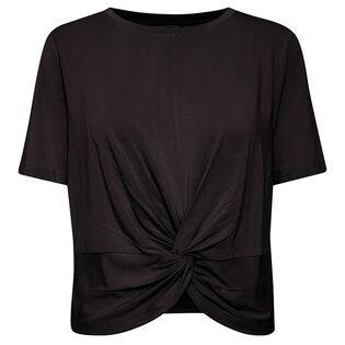 T-shirt Tamala à ourlet noué pour femmes
