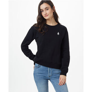 Women's Golden Spruce Crew Sweatshirt