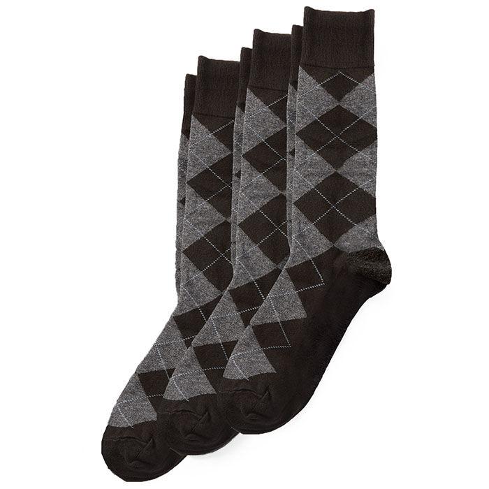 Men's Argyle Dress Sock (3 Pack)