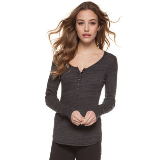 Women's Scoop Henley Top