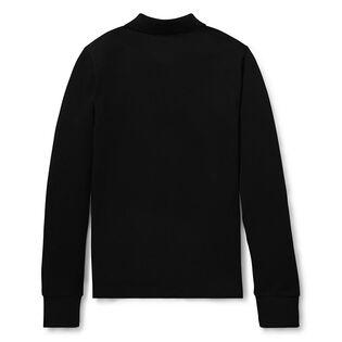 Junior Boys' [8-20] Cotton Mesh Long Sleeve Polo
