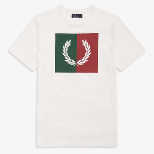 Men's Split Laurel Wreath T-Shirt