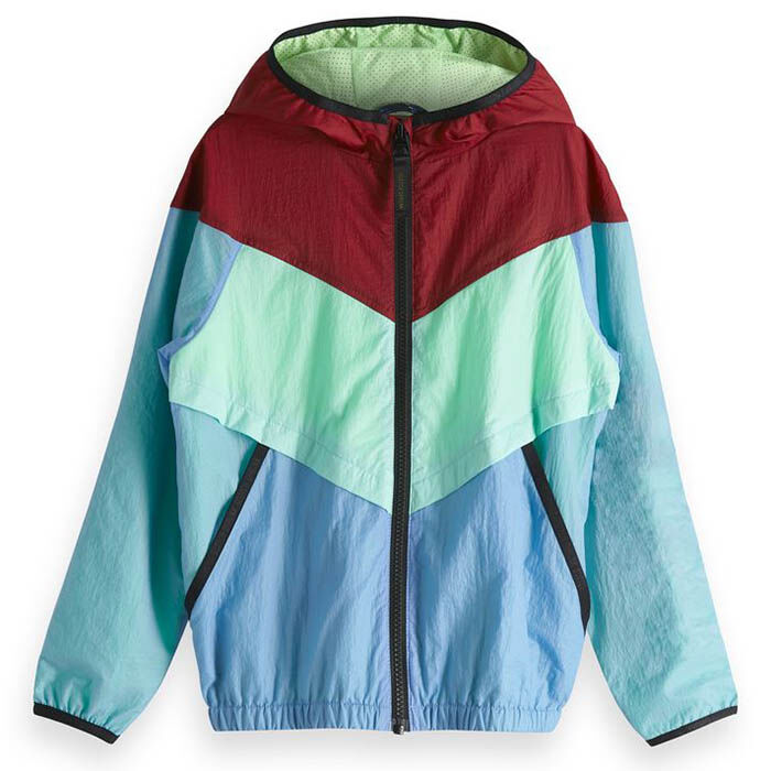 Junior Boys' [8-16] '90S Windbreaker Jacket