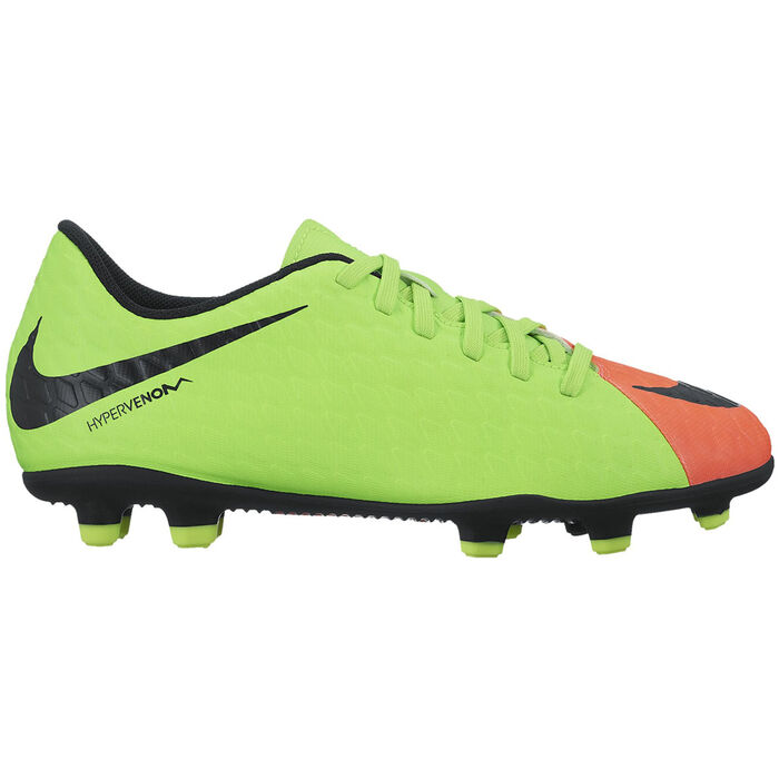 e355ff282df7 Juniors' [1-6] Hypervenom Phade III Firm Ground Soccer Cleat | Nike ...