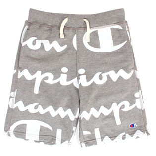 Juniors' [8-16] Allover Script Sweat Short