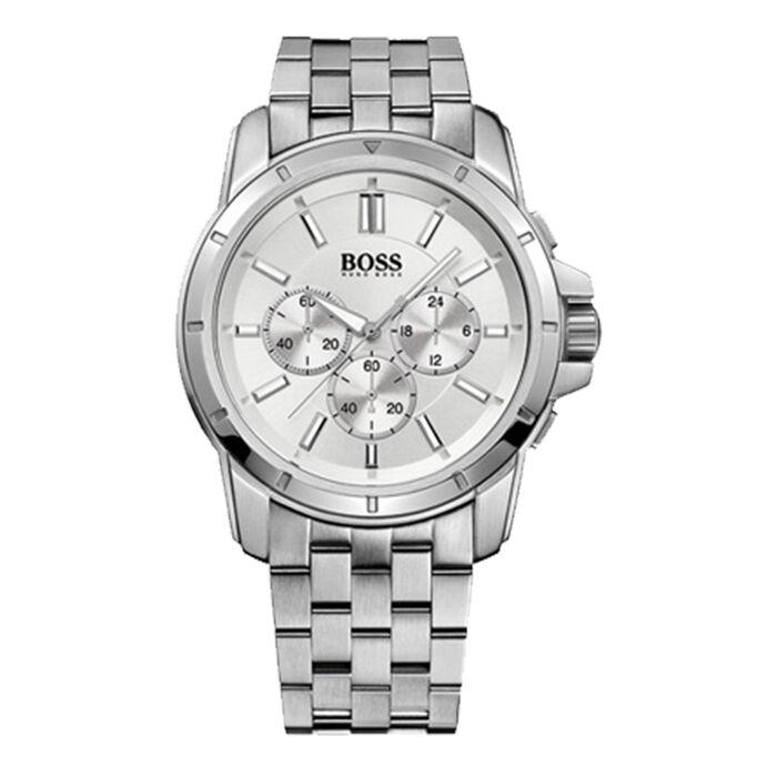 Boss Orange Chrono Stainless Steel Watch (Silver)