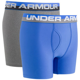 Junior Boys' [8-16] Solid Performance Boxer Brief (2 Pack)