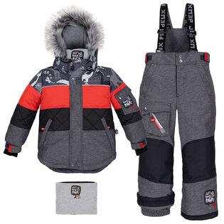 Boys' [2-6] Dinos Puffers Two-Piece Snowsuit