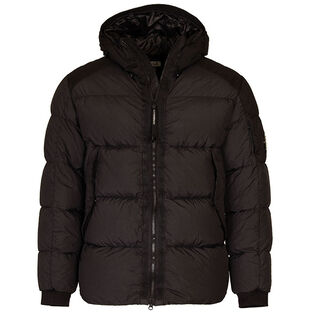 Men's Down Padded Lens Jacket