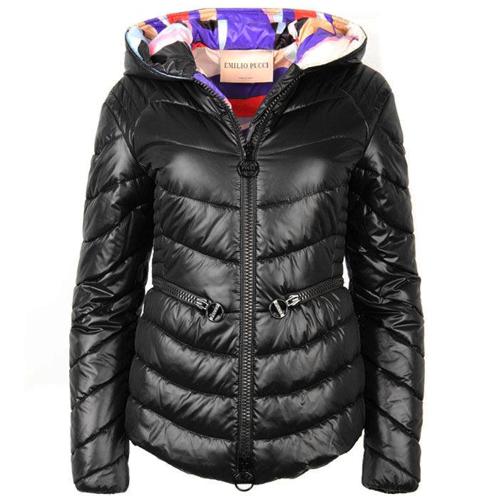 Manteau bouffant à capuchon pour femmes
