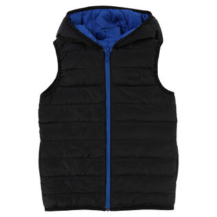Junior Boys' [6-14] Reversible Down Vest