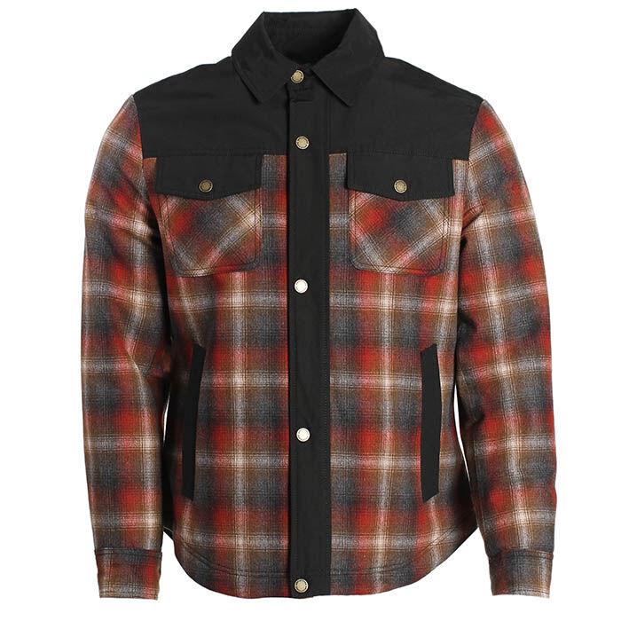 Veste chemise à carreaux Cooper pour hommes