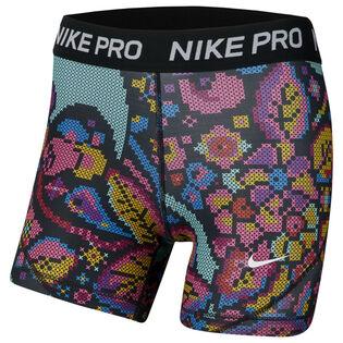Short imprimé Nike Pro pour filles juniors [7-16]