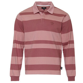Men's Two-Tone Stripe Rugby Top