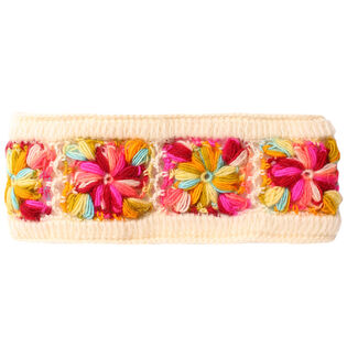 Women's Flower Crochet Headband
