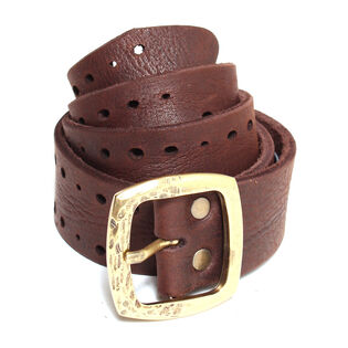 Women's Porto Denim Leather Belt