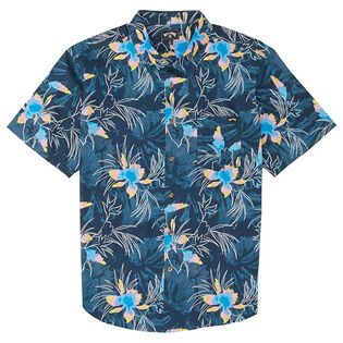 Junior Boys' [8-16] Sundays Floral Shirt