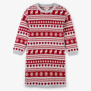 Girls' [2-6] Fair Isle Sweater Dress
