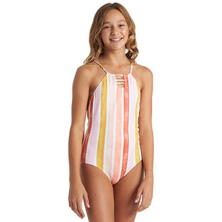 Junior Girls' [8-14] So Stoked One-Piece Swimsuit