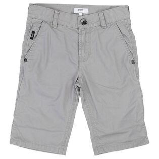Junior Boys' [4-16] Cotton Twill Short