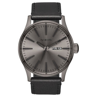 Montre Sentry en cuir