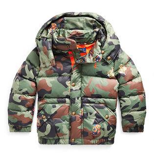 Boys' [5-7] Bear Camo Down Jacket