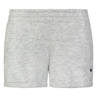 Junior Girls' [7-16] Speckle French Terry Short
