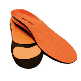 Orange Trim To Fit Footbed