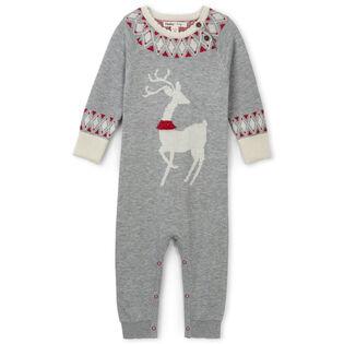 Combinaison Mistletoe Deer pour bébés [6-24M]