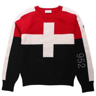 Junior Boys' [8-14] Girocollo Sweater