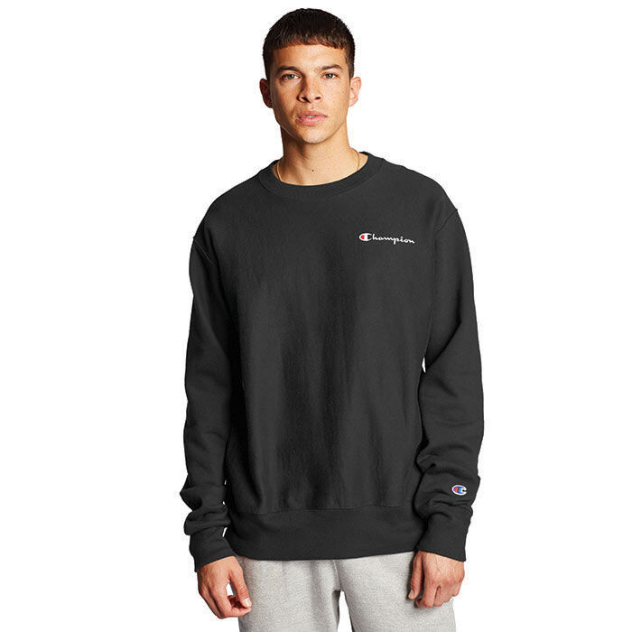 Men's Reverse Weave® Script Sweatshirt