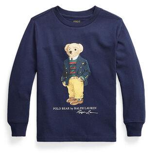 Boys' [5-7] Polo Bear Cotton Jersey T-Shirt