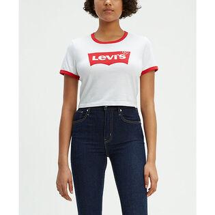 Women's Cropped Ringer T-Shirt