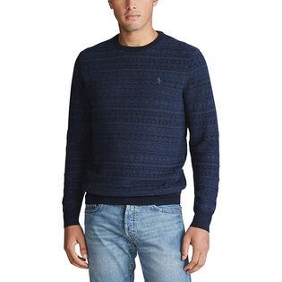 Men's Fair Isle Merino Wool Sweater