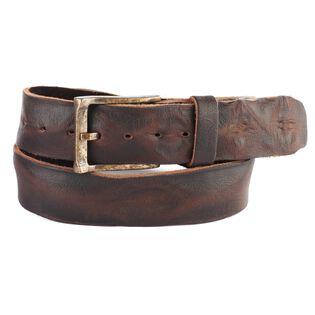 Men's Cava Skrunchy Denim Leather Belt