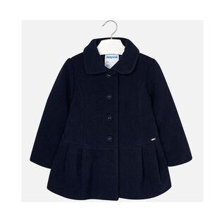 Girls' [4-6] Natural Wool Coat