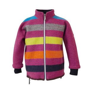 Veste en laine rayée pour filles juniors [10-14]