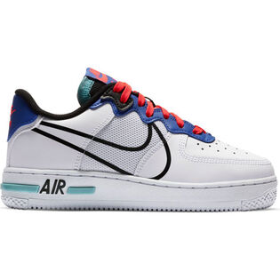 Chaussures Air Force 1 React pour juniors [3,5-7]