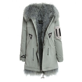 Women's Saline Rosemary Canvas Parka