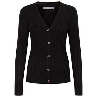 Women's Ribbed Knit Cardigan