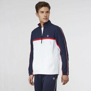 Men's Heritage Quarter-Zip Windbreaker Jacket